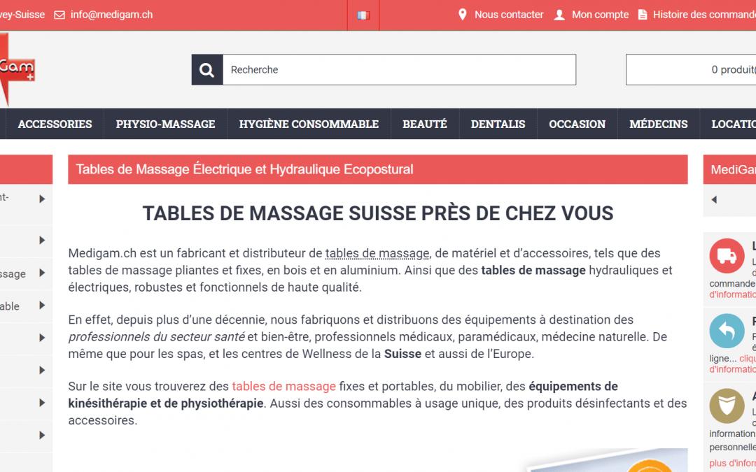 Les meilleures tables de massage, pliables, électriques …